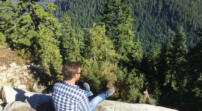 Super Tag auf dem Grouse Mountain