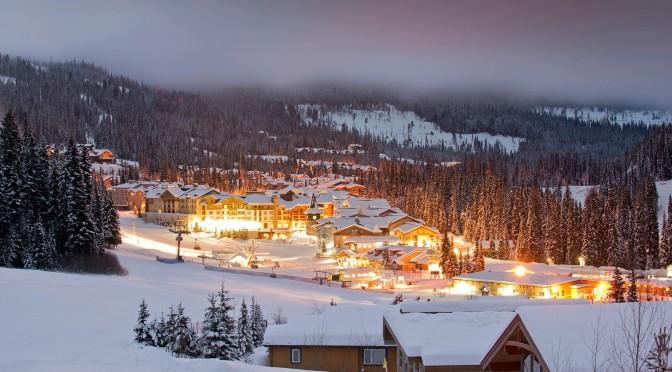 Sun Peaks Resort wird leer